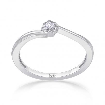 Mine Platinum Ring KRJRW493301
