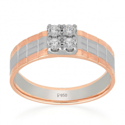 Mine Platinum Ring LMCO155S