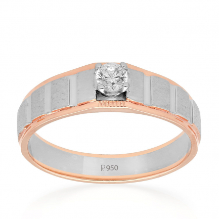 Mine Platinum Ring LMS0115S