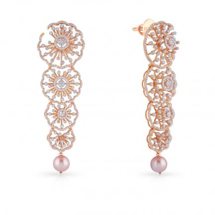 Mine Diamond Earring MBER00504