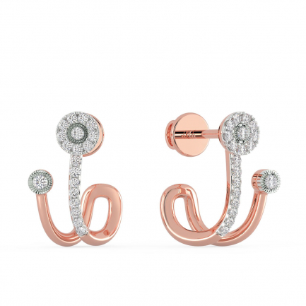 Mine Diamond Earring MBER00773