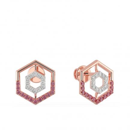 Mine Diamond Earring MBER10442M1