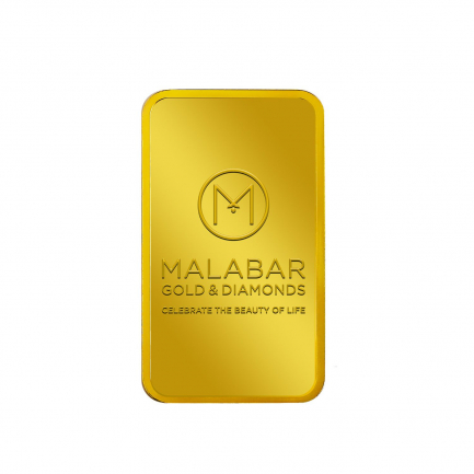 999.9 Purity 100 Grams Malabar Gold Bar MGB9999P100G