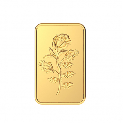 999 Purity 10 Grams Rose Gold Bar MGBRS999P10G