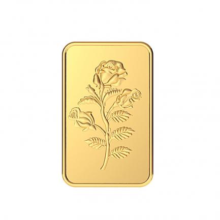 999 Purity 5 Grams Rose Gold Bar MGBRS999P5G