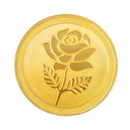 999 Purity 5 Grams Rose Gold Coin MGRS999P5G