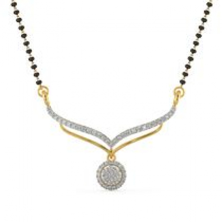 Mine Diamond Mangalsutra MSAJTNTAN3982