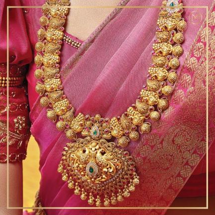 2020 Edition The Classic Gold Bride Necklace NEGEANCLLAU001