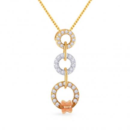 Mine Diamond Pendant P651427TT