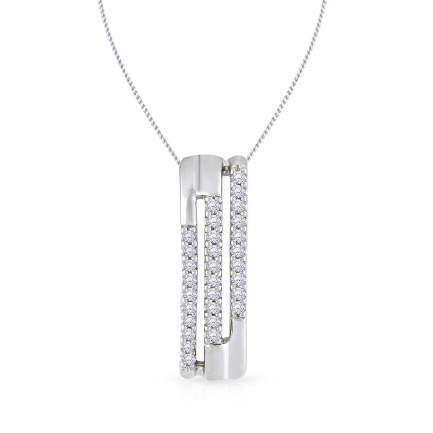 Mine Platinum Pendant PD22025PT