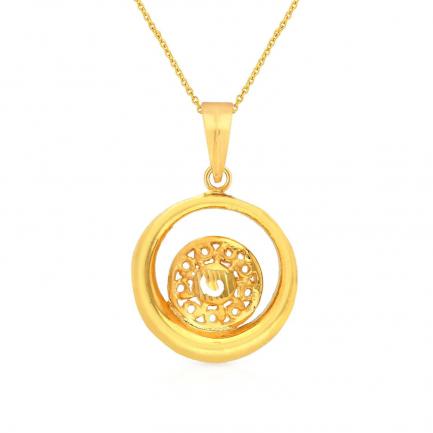 Malabar Gold Pendant PDGEDZRURGU214