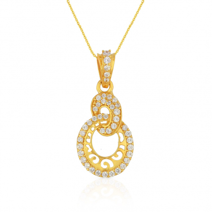 Malabar Gold Pendant PDSKSNP3043A