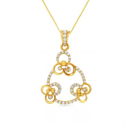Malabar Gold Pendant PDSKSNP4467A