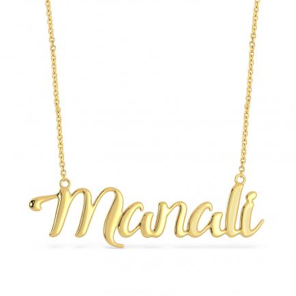 Malabar Gold Personalise Pendant PRPDNM003