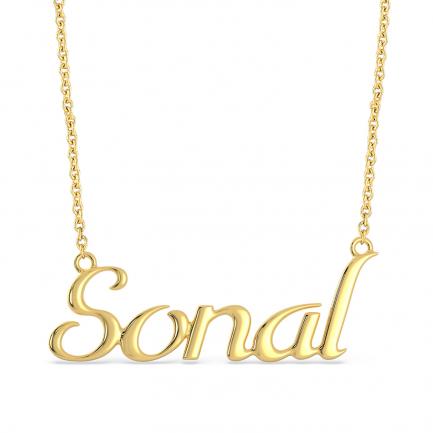 Malabar Gold Personalise Pendant PRPDNM006