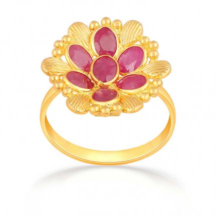 Precia Gold Ring RGSNGGM021