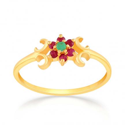 Precia Gold Ring RGSNGGM080