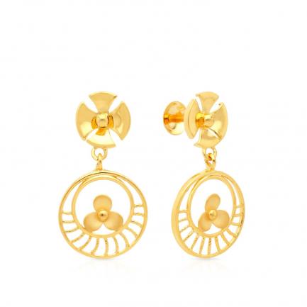 Malabar Gold Earring STGEDZRURGU570