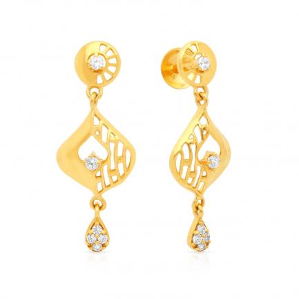 Malabar Gold Earring STGEDZRURGU578
