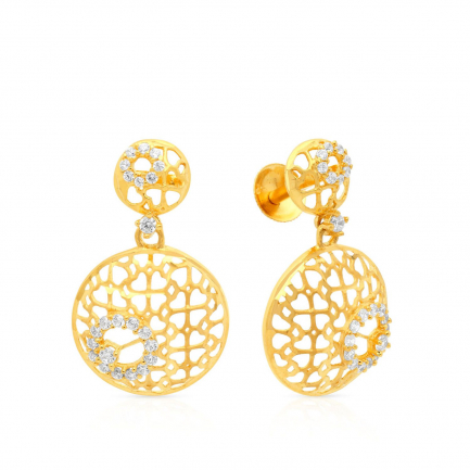 Malabar Gold Earring STGEDZRURGU595