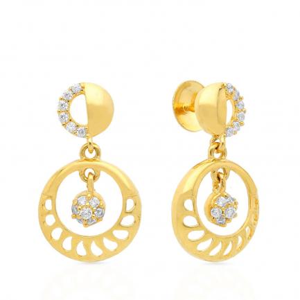 Malabar Gold Earring STGEDZRURGU599