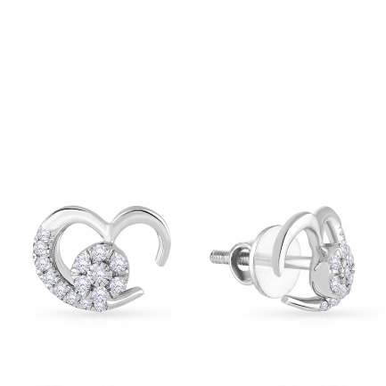 Mine Platinum Earring UIER39567PT