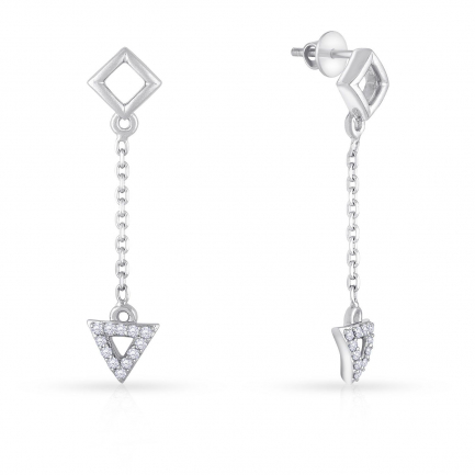Mine Platinum Earring UIER39626PT