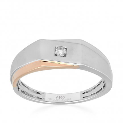 Mine Platinum Ring UIRG06837