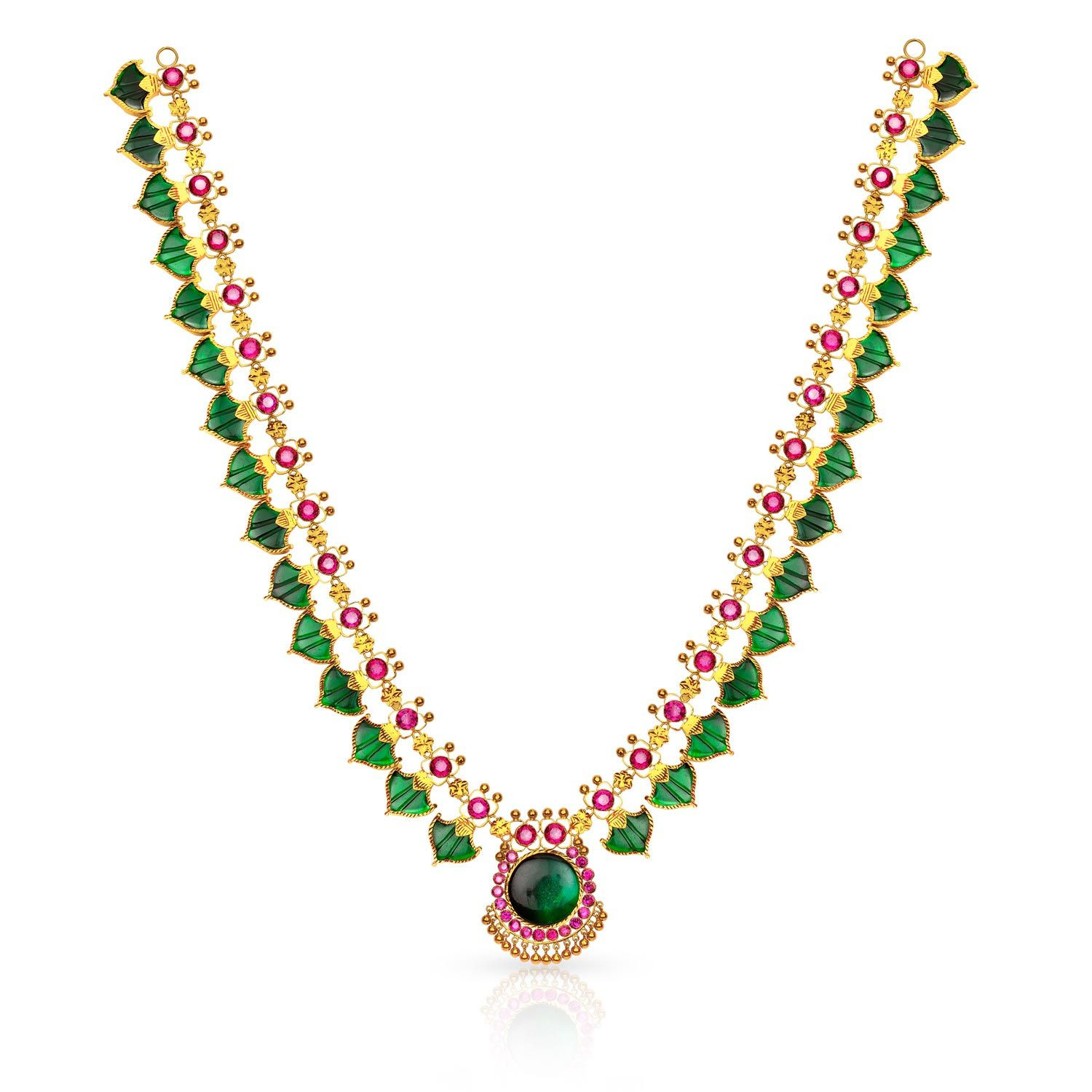 Buy Kerala Hindu Malabar Gold Palakka Mala CNK0675GR for Women Online |  Malabar Gold & Diamonds