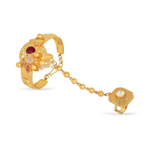 Gujarati Bride Ethnix Gold Bracelet AHDAAAAAILPJ