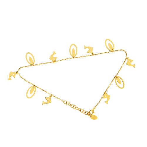 Malabar Gold Anklet Set ASAN062010