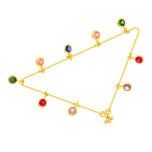 Malabar Gold Anklet Pair ASAN123347