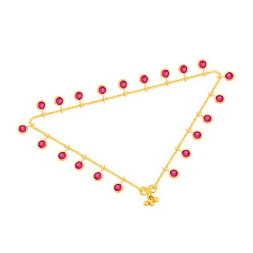Malabar Gold Anklet Pair ASAN123644