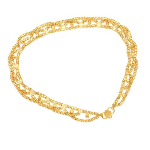 Malabar Gold Anklet Set ASAN212862