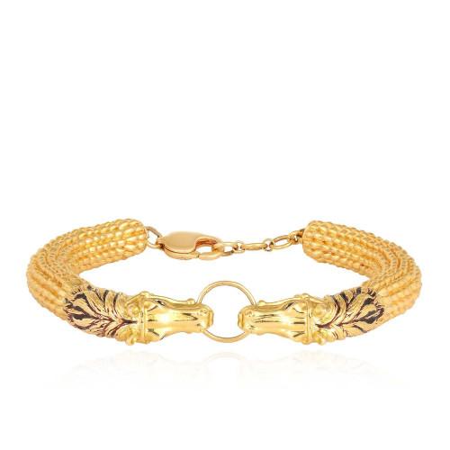 Gujarati Bride Divine Gold Bracelet BLRAAAAFWDML