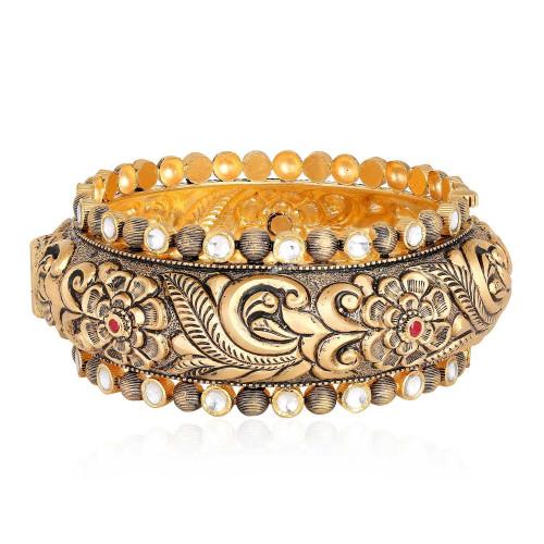 Gujarati Bride Ethnix Gold Bangle BLRAAAAFWDNU