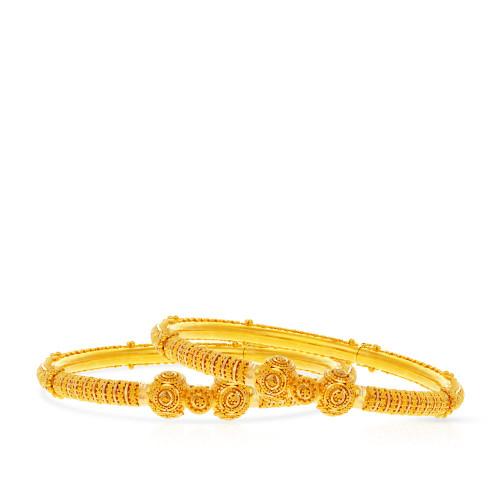 Malabar Gold Bangle Set BSBG038805