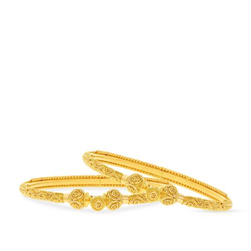 Malabar Gold Bangle Set BSBG038816