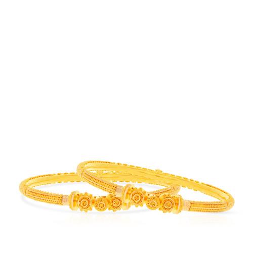 Malabar Gold Bangle Set BSBG038852