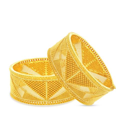 Malabar Gold Bangle Set BSBG038877