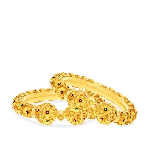 Malabar Gold Bangle Set BSBG038895