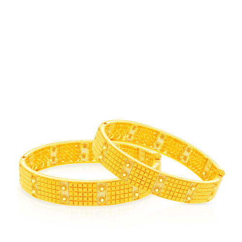 Malabar Gold Bangle Set BSBG168692
