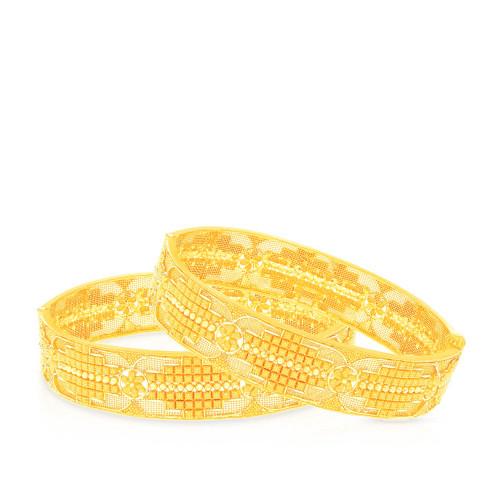 Malabar Gold Bangle Set BSBG168699
