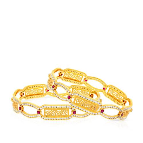 Malabar Gold Bangle Set BSBG204997