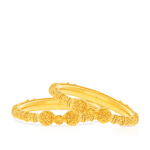 Malabar Gold Bangle Set BSUSBG038861