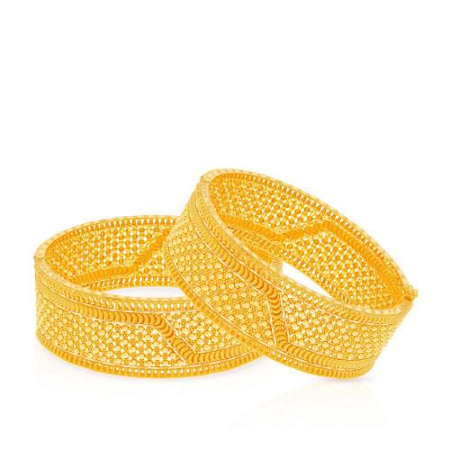 Malabar Gold Bangle Set BSUSBG038883