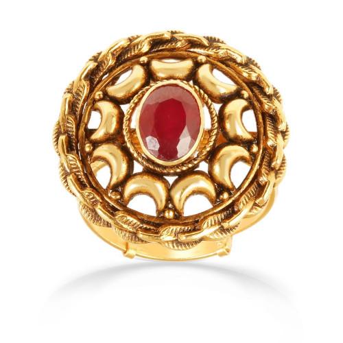 Telugu Bride Precia Gemstone Ring FRPRHDOSBRA001