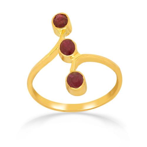 Telugu Bride Precia Gemstone Ring FRPRHDOSRGA002