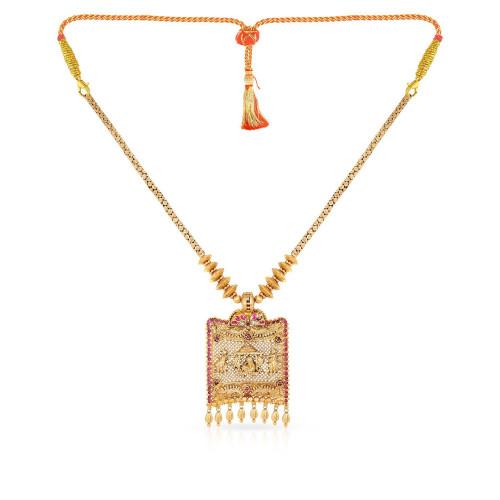 Telugu Bride Ethnix Necklace NEGEANRNLPA774