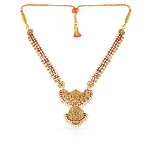 Telugu Bride Precia Gemstone Necklace NEPRHDOSLAA001
